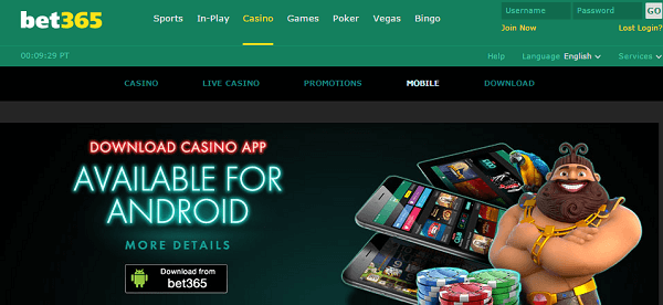 Bet365 Games Mobile