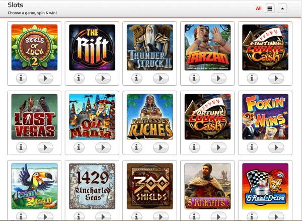Phone Casino slots