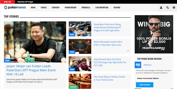 Pokernews Site
