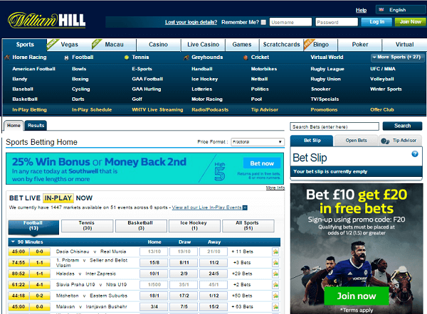William Hill overview