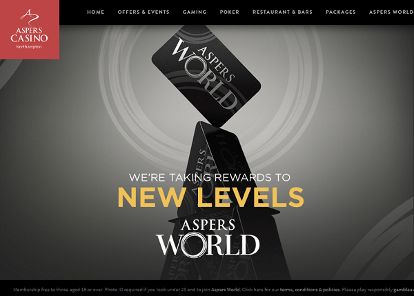 Aspers World Membership