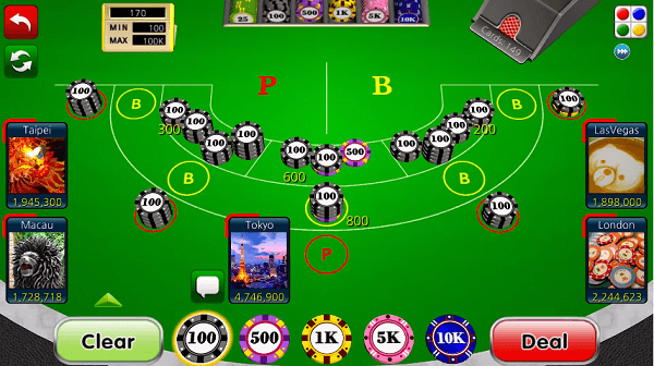 Baccarat How to Play