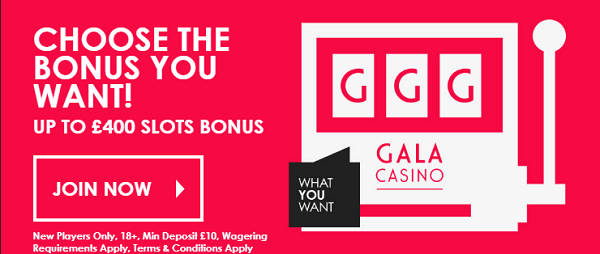 Gala Casino Welcome Bonus
