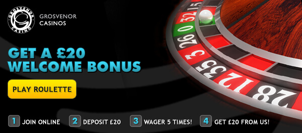 Grosvenor Casino Bonus