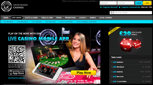 Grosvenor Casino Online