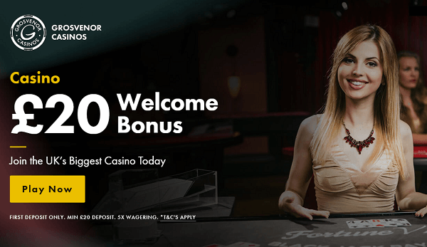 Grosvenor UK Online Casino