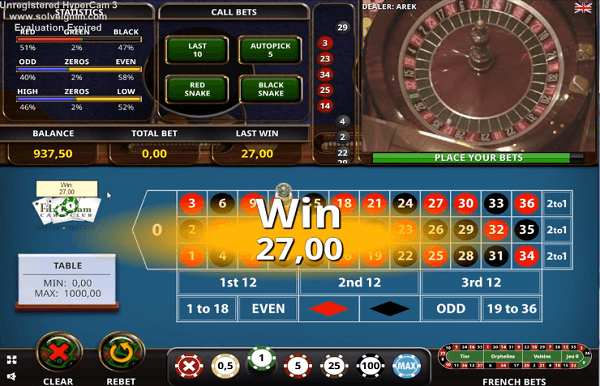 Beat the Roulette - best roulette betting systems