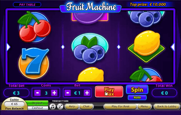 How to Play Fruit Machine Online