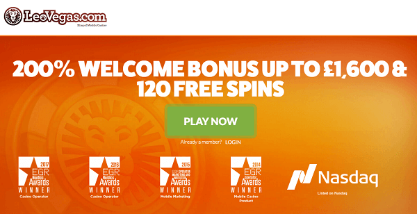 LeoVegas Casino Free Spins