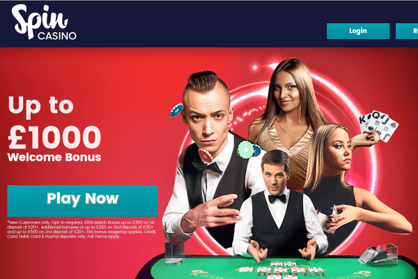 Spin Casino Sign Up Bonus